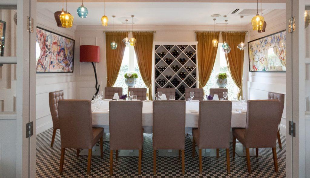 gallery room restaurant